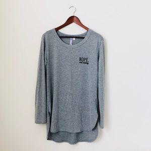 Alya•Nope Not Today Sweater